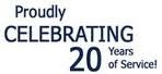Proudly Celebrating 20 Years of Service